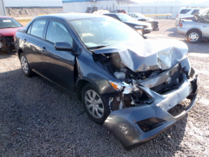 The damage that can be caused by a front-end collision