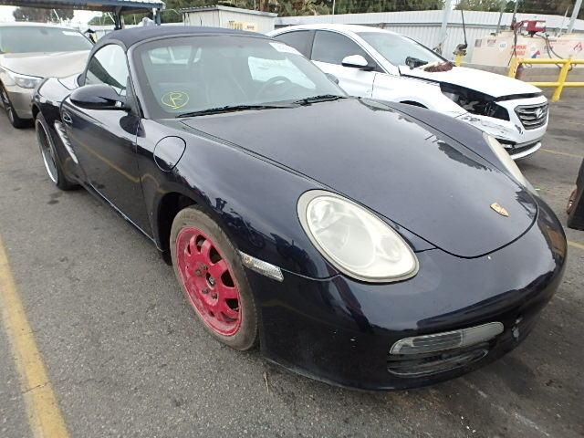 Flood Damaged 2005 Porsche Boxster