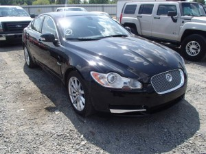 Jaguar at Copart Auto Auction