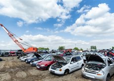 Salvage Vehicles at Online Auction