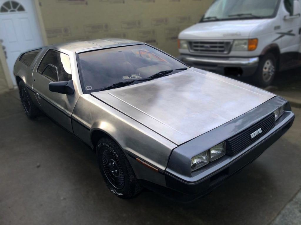 car halloween costume delorean back to the future
