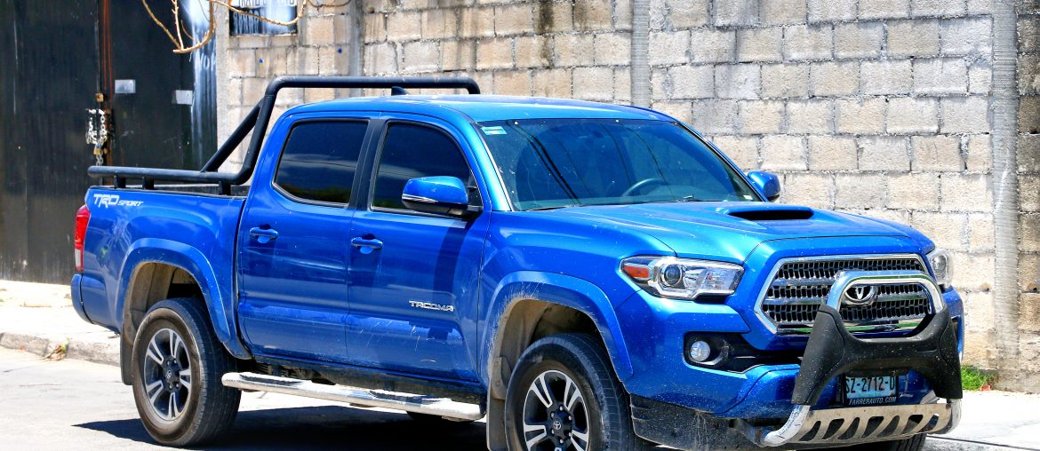 Salvage Toyota Tacoma for sale