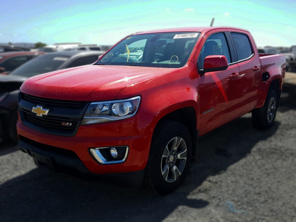 2020 chevrolet colorado wrecked chevy trucks for sale