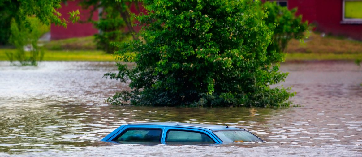 water and flood damaged cars