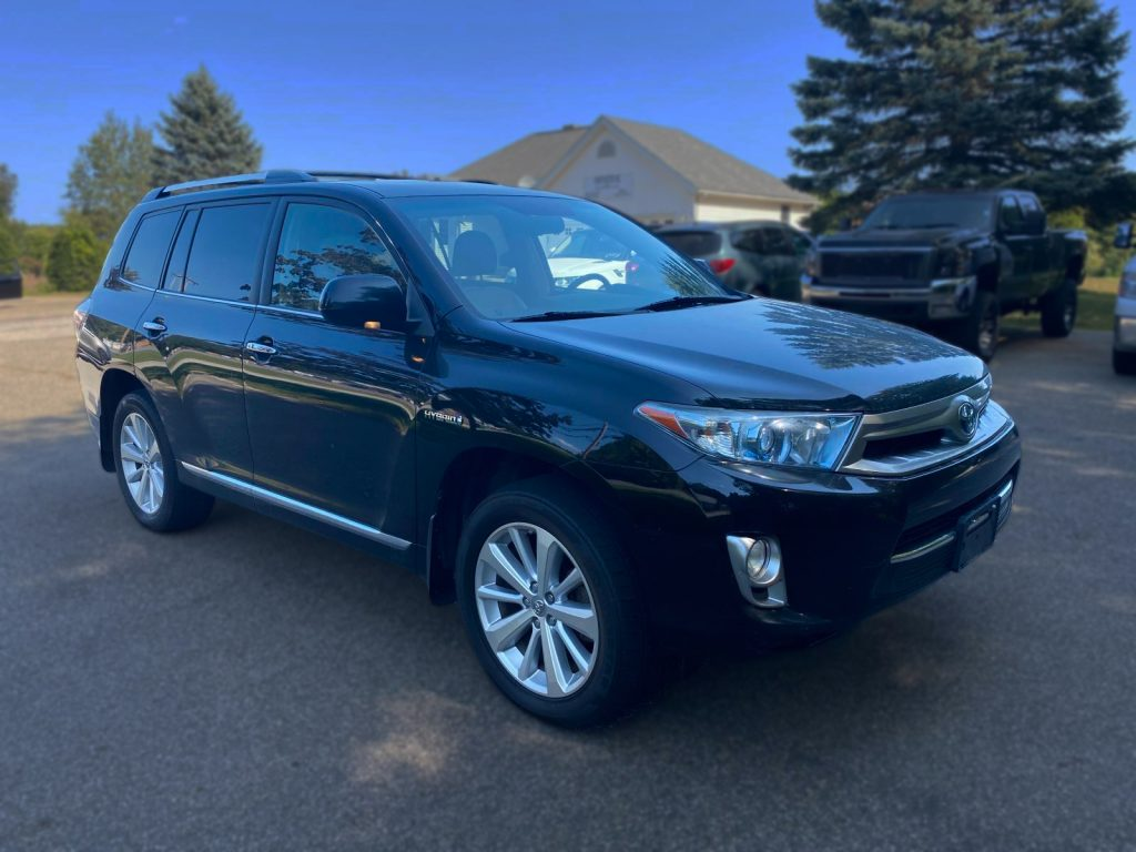 high mileage cars toyota highlander