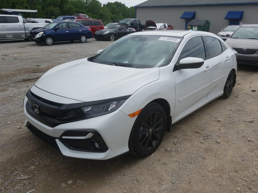 2020 salvage honda civic most reliable cars