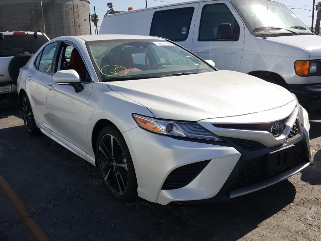 2020 salvage toyota camry most reliable cars